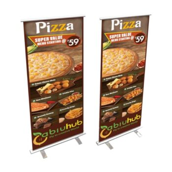 personalized rollup standee