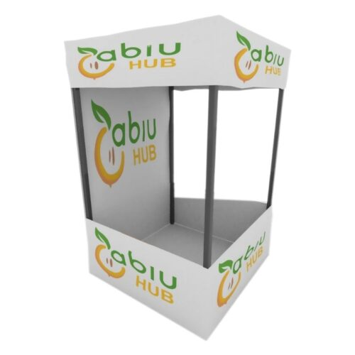 personalized demo tent